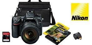 Nikon D7100 DSLR Camera with 18-200mm VRII Lens Bundle