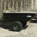 12 Cu. Ft. Power-Assist Poly Project Cart by OxCart