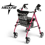 UltraLIght Freedom Rolling Walker by Medline