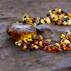 Amber Jewelry. New Collection