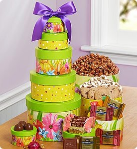 Sweet Spring Greetings Gift Tower Shop Now