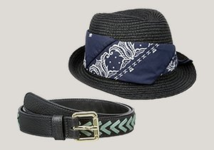 Best of Black: Belts, Hats & More