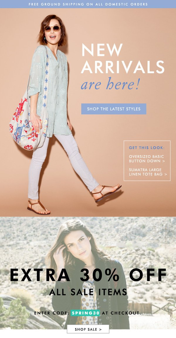New Arrivals are Here! Shop the Latest Looks