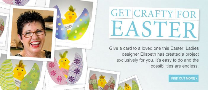 Get crafty for Easter