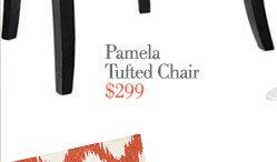 pamela tufted char | $299