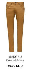 Colored Jeans 49.90 SGD