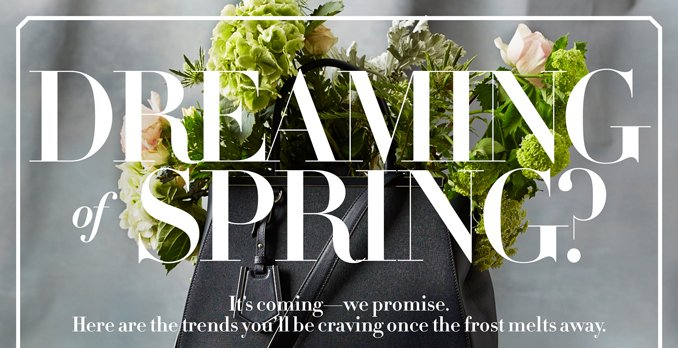 Dreaming of Spring?