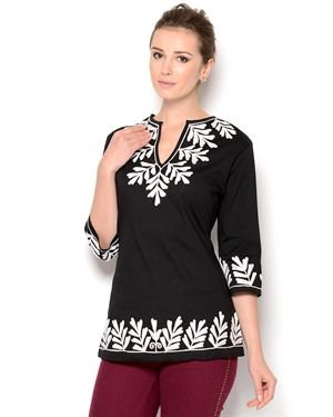 Almatrichi Embroidered Blouse - Made in Portugal
