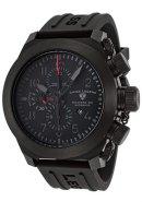 Men's Militare No1 Automatic Chronograph Black Silicone