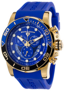 Men's Avalanche Chronograph Blue Dial Blue Silicone