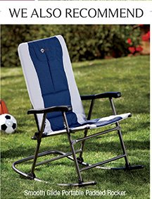 Smooth Glide Portable Padded Rocker