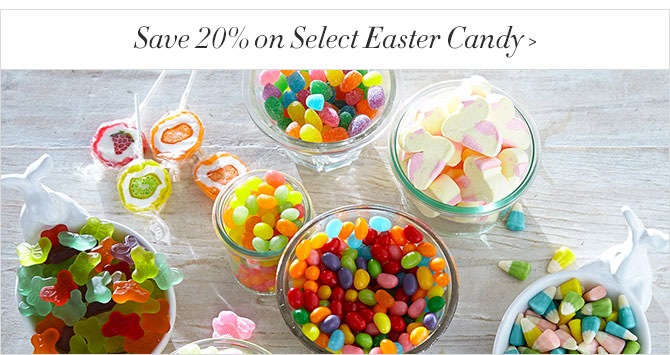 Save 20% on Select Easter Candy