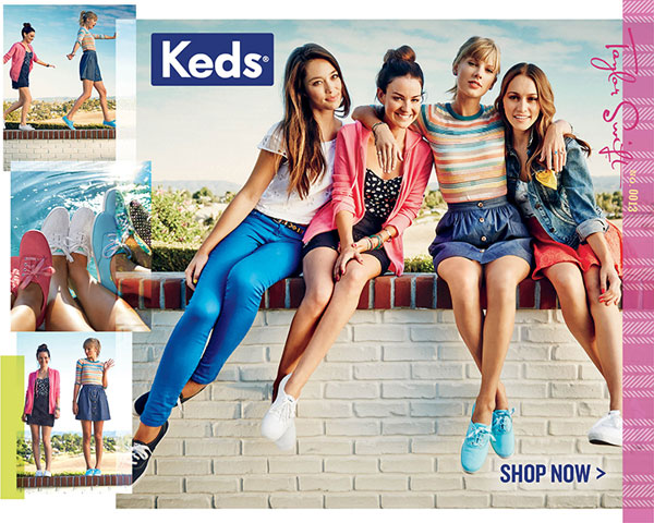 Keds: Brave Looks Good On You