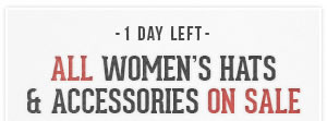 All Womens Hats and Accessories on Sale