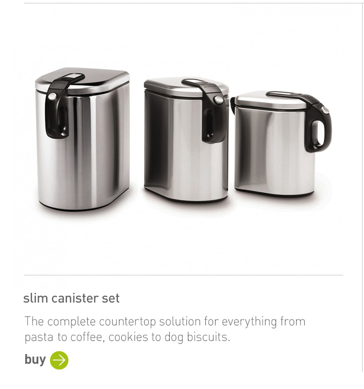slim canister set