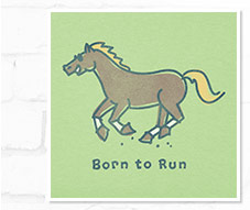Women's Born to Run Tee