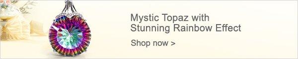 Mystic Topaz with Stunning Rainbow Effect