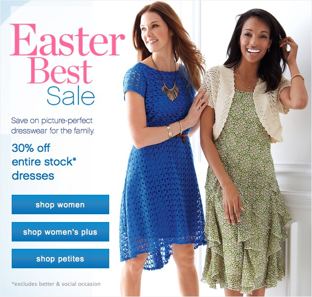 Feminine, Fun and Fresh for Spring. 30% off entire stock dresses.