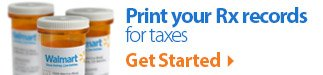 Print your RX history for taxes