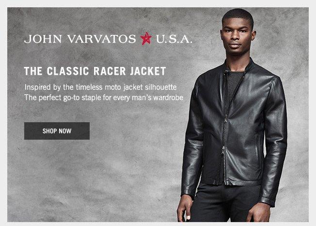 John Varvatos U.S.A. - Shop the Classic Racer Jacket