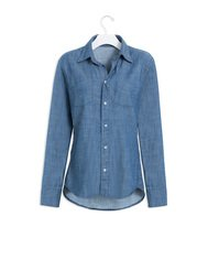 Classic Boyfriend Denim Shirt