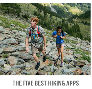 5 BEST HIKING APPS