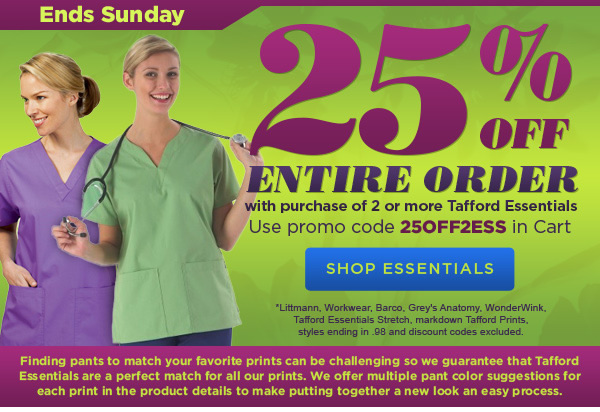 25% Off 2 or More Essentials - Shop Essentials