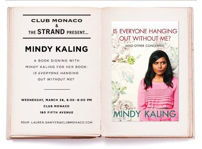 Meet Mindy Kaling At Club Monaco