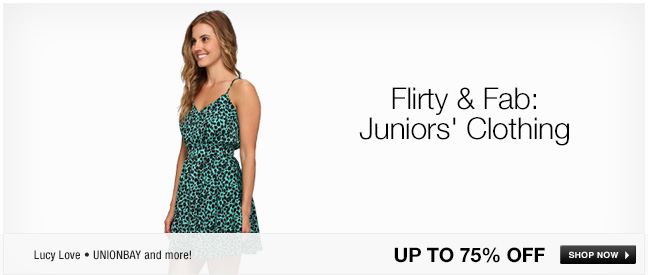 Flirty and Fab: Juniors Clothing