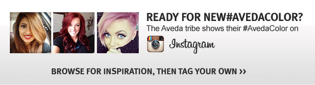 ready for a new aveda color? browser for inspiration, then tag your own.