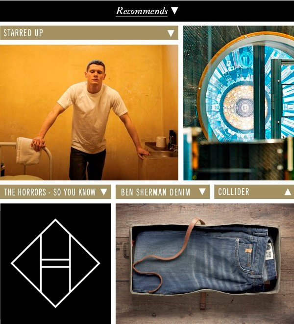 Starred Up | The Horrors - So You Know | Ben Sherman Denim | Collider