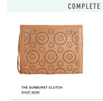 The Sunburst Clutch - Show Now