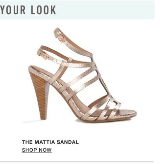 The Mattia Sandal - Show Now