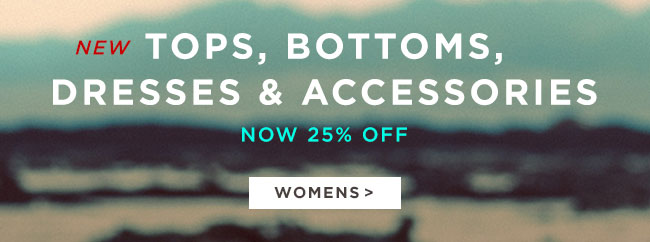 Womens Tops, Bottoms, Dresses & Accessories