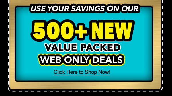 Use it on our Web Only Deals!