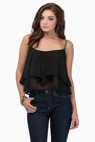 Blake Tiered Top $29
