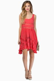 Playing Ruffle Dress $46