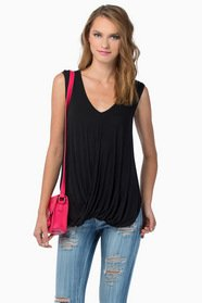Lydia Scoop Neck Top $26