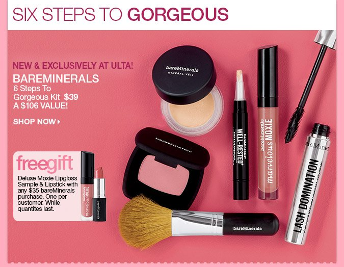 bareMinerals 6 Steps to Gorgeous Kit - $39