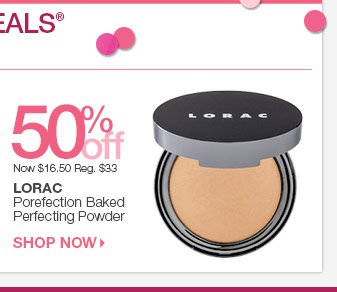Beauty Steal - 50% off Lorac Porefection Baked Perfecting Powder