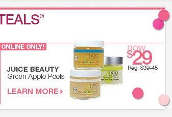 Monday, 3/24 Beauty Steal - Juice Beauty Green Apple Peels now $29