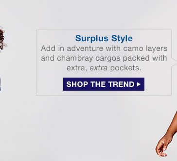 Surplus Style | SHOP THE TREND