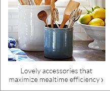 Lovely accessories that maximize mealtime efficiency