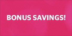 Bonus Savings