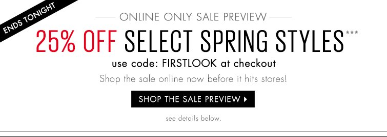 Select Spring Styles