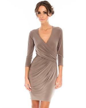 Goddess London Wrap Dress Made In UK