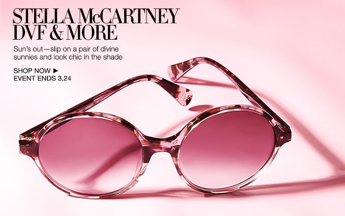 Shop Stella McCartney, DVF & More - Sunglasses - Ladies