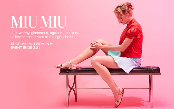 Shop Miu Miu - Ladies