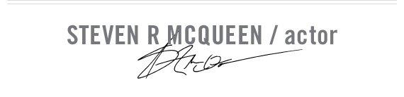 STEVE R MCQUEEN / actor