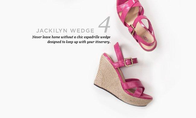 JACKILYN WEDGE. SHOP NOW >